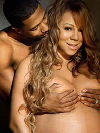 Mariah Carey's Naked Pregnancy Photos