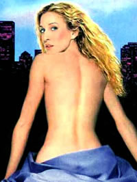 Sarah Jessica Parker topless and lingerie photoshot