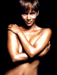 Halle Berry nude movie caps and sexy posing pics