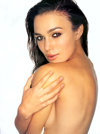 Keira Knightley sexy posing and topless shots