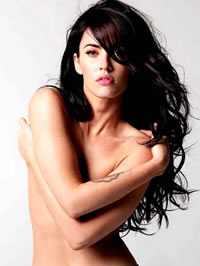 Megan Fox nude and lingerie shots