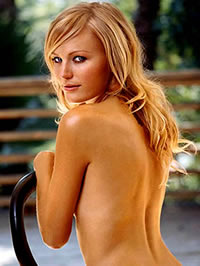 Malin Akerman topless and bikini shots