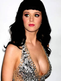 Katy Perry sexy posing and upskirt shots