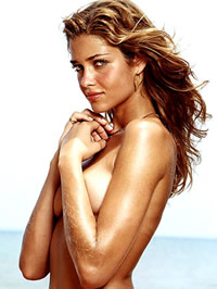 Ana Beatriz Barros topless beach photoshot
