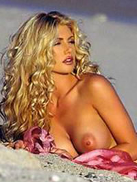 Brande Roderick naked shows her big tits