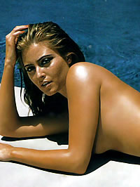Holly Valance bikini and topless photoshot