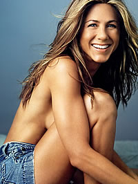 Jennifer Aniston bikini and topless photoshot