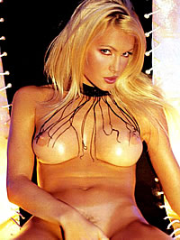 Caprice Bourret topless and hot lingerie shots