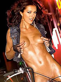 Adrianne Curry posing nude in various sexy pics
