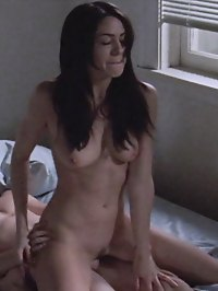 Sexy Brunette Michelle Borth bares all for explicit sex scene