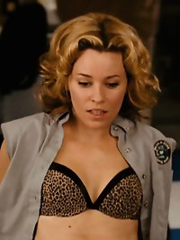 Elizabeth Banks in all sorts of sexy outfits with a peek at left nip
