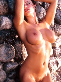 Candice Michelle really naughty and nude