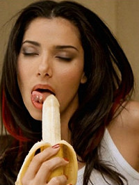 Roselyn Sanchez Banana Blowjob
