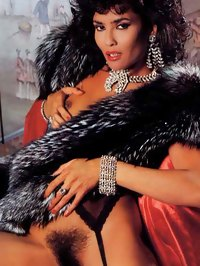 Laura Gemser Shows Her Hairy Pussy