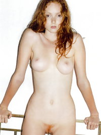 Lily Cole Showing Her Nice Pussy and Boobs