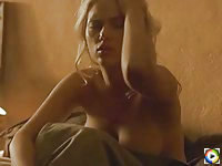 Scarlett Johansson nude in bed after sex