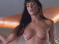 Demi Moore shows her amazing boobs and gets fucked real hard