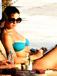 Katy Perry paparazzi bikini beach shots
