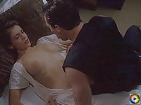 Alyssa Milano gets fucked hard on the bed