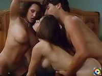 Athena Massey in threesome action