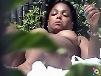 Janet Jackson Sunbuthing Totaly Naked
