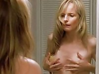Helen Hunt having fun