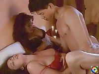 Krista Allen In Threesome Action