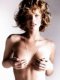 Eva Herzigova exposed her nice pussy and small tits