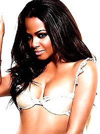Christina Milian sexy posing in hot lingerie