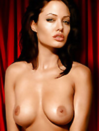 Angelina Jolie shows her perfect nude body