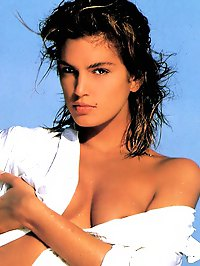 Cindy Crawford shows her nice ass hairy pussy and lovely boobs