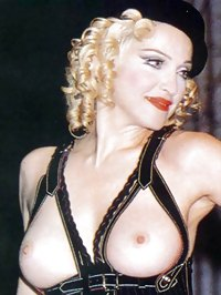 Madonna topless and nude shots