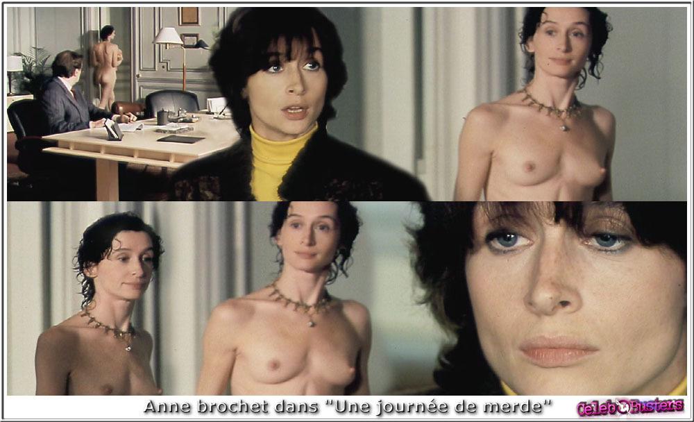Anne Brochet  nackt
