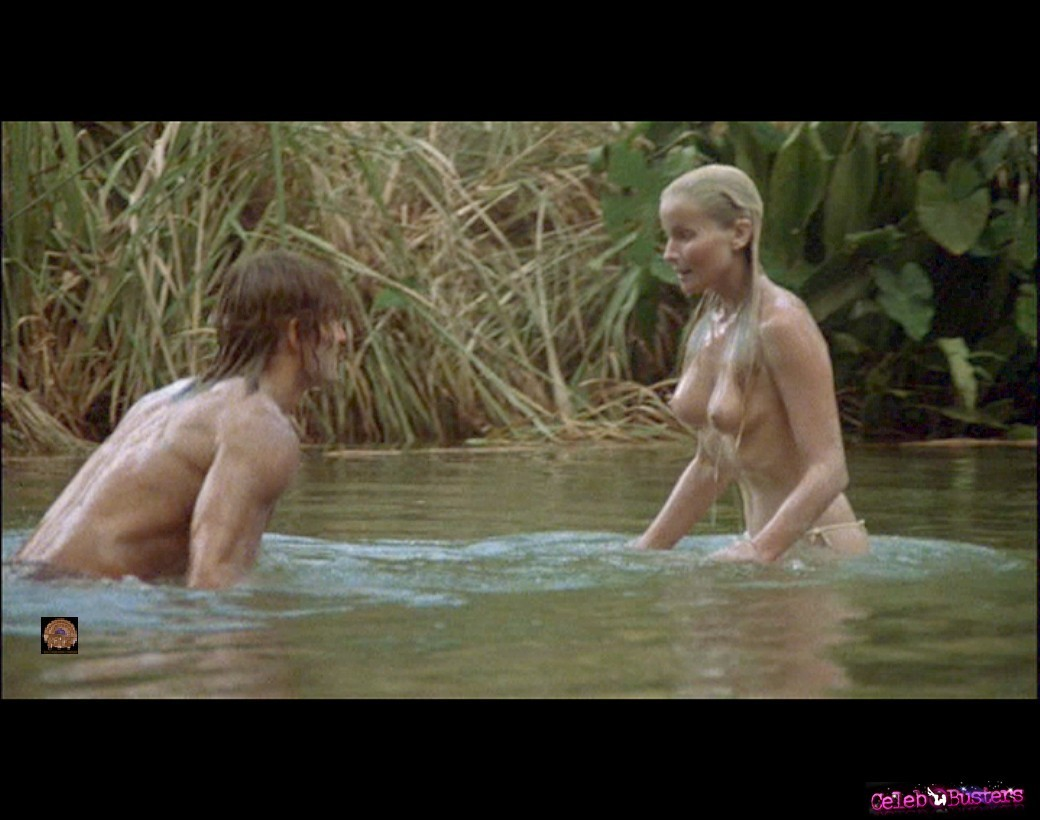 Bo derek nude boobs in tarzan the ape man movie