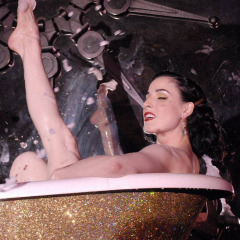 Think, that Dita von teese nude pussy