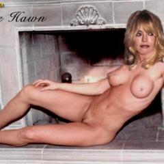Goldie nackt Hawn Goldie Hawn