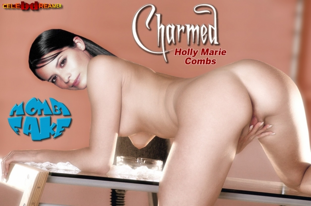 pictures marie Naked combs holly of