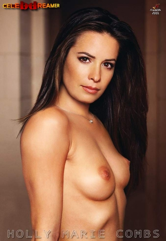 holly marie combs tits