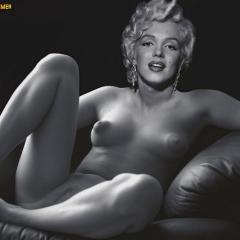 Black nude hairy big woman