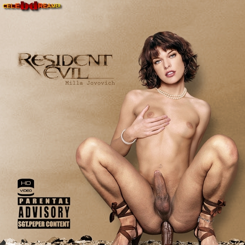 Milla Jovovich Naked Pictures