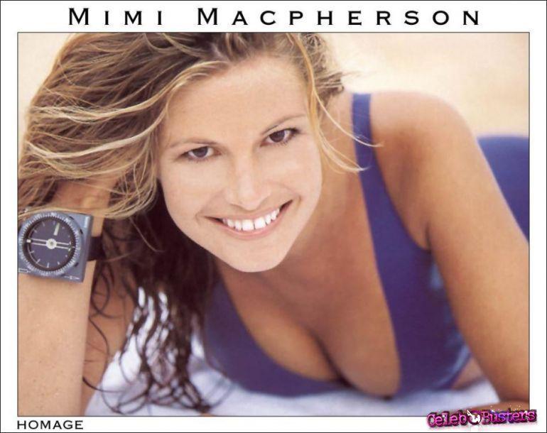 Macpherson nackt Mimi  Celeb