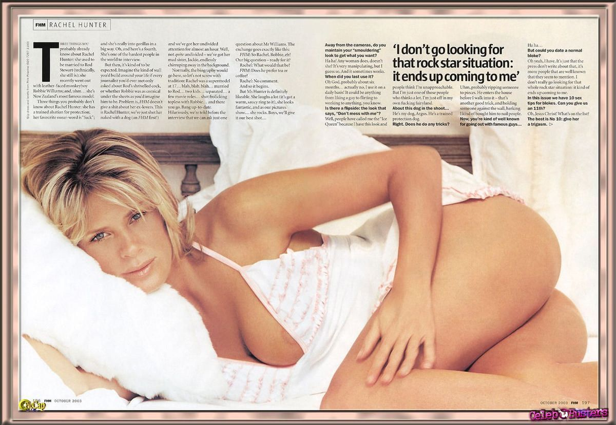 Are not rachel hunter sex video agree, excellent
