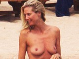 Heidi Klum paparazzi topless and see through shots