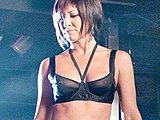 Jennifer Aniston hot as never in lacy lingerie showing c-thru nipples