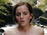 Emma Watson flash her pussy and butt naked from a movie
