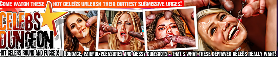 Come watch these hot celebs unleash their dirtiest submissive urges!